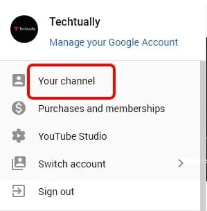 youtube channel id