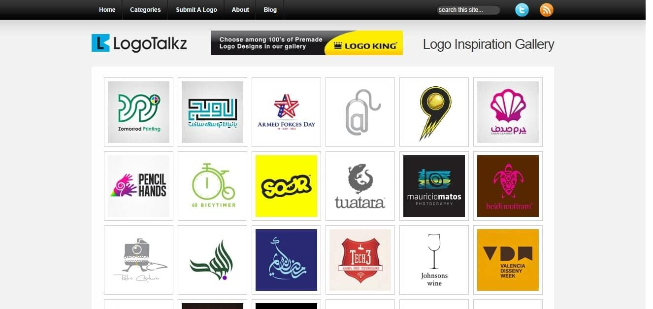 logo inspiration logotalkz