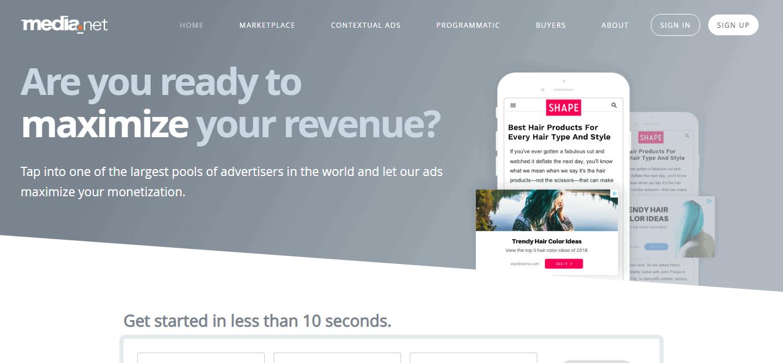 best AdSense alternative for small websites