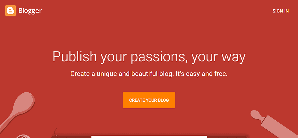 blogger snapshot