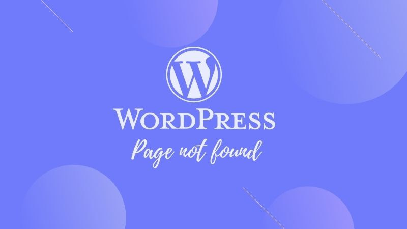 wordpress page not found after publish