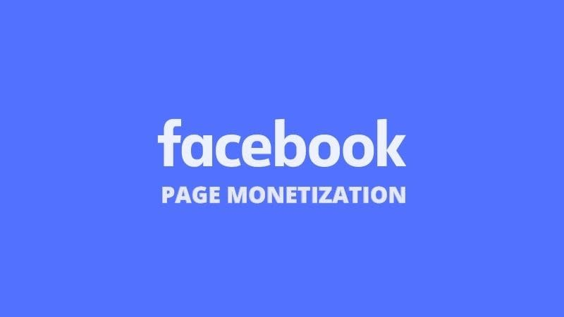 How to Monetize Facebook Page