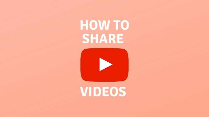 How to share youtube channel link